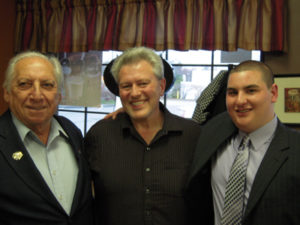 Joe with Raynham residents John Montagano and Tom Wilbur  during Joe's 2010 campaign kick-off event.