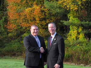 Congressman Stephen Lynch and Selectman Joe Pacheco